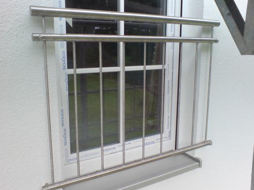 franz sische balkongel nder heinox edelstahl. Black Bedroom Furniture Sets. Home Design Ideas